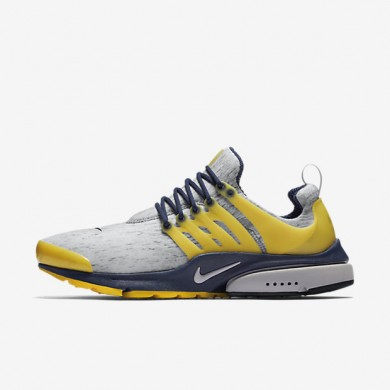 Nike Air Presto Zen Grey/Midnight Navy/Varsity Maize/Zen Grey Mens Shoes