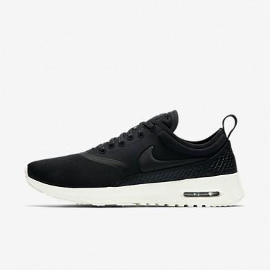 Nike Air Max Thea Ultra Premium Black/Ivory/Black Womens Shoes