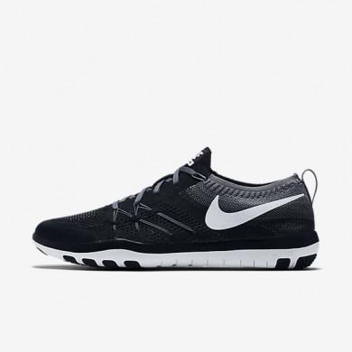 Nike Free TR Focus Flyknit Black/Cool Grey/White Womens Training Shoes