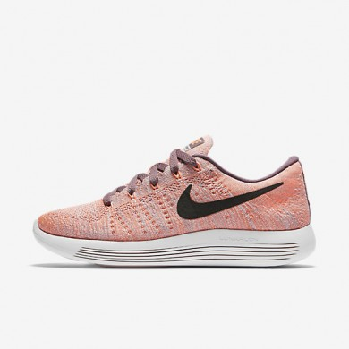 Nike LunarEpic Low Flyknit Plum Fog/Purple Shade/Pearl Pink/Black Womens Running Shoes