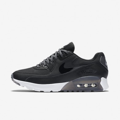 Nike Air Max 90 Ultra Essential Black/Dark Grey/Pure Platinum/Black Womens Shoes
