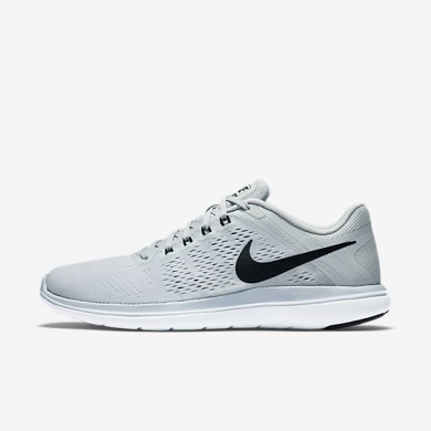 Nike Flex 2016 RN Pure Platinum/White/Black Womens Running Shoes