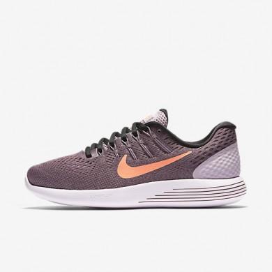Nike LunarGlide 8 Plum Fog/Purple Shade/Pearl Pink/Bright Mango Womens Running Shoes
