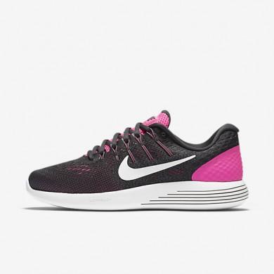 Nike LunarGlide 8 Pink Blast/Anthracite/Cool Grey/Summit White Womens Running Shoes