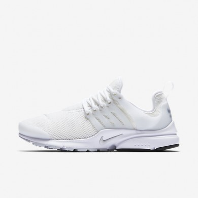 Nike Air Presto White/White/Pure Platinum Womens Shoes