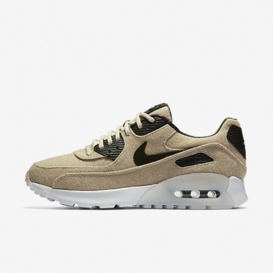Nike Air Max 90 Ultra Premium Oatmeal/White/Black Womens Shoes