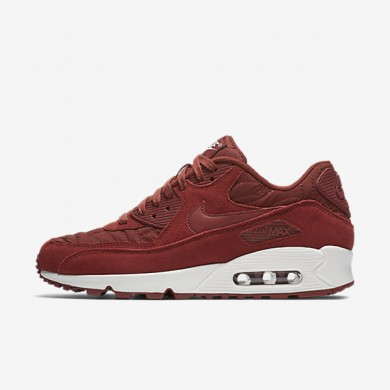 Nike Air Max 90 Premium Dark Cayenne/Ivory/Dark Cayenne Womens Shoes