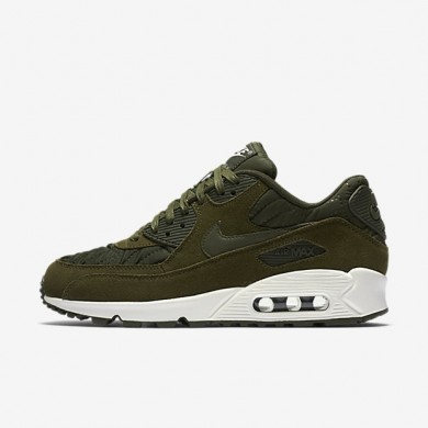 Nike Air Max 90 Premium Dark Loden/Ivory/Dark Loden Womens Shoes