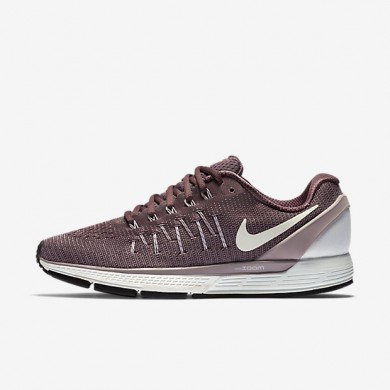 Nike Air Zoom Odyssey 2 Purple Dynasty/Bright Mango/Peach Cream/Summit White Womens Running Shoes