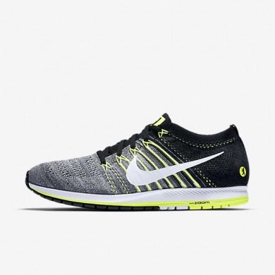 Nike Zoom Flyknit Streak LE (Berlin 2016) Black/Dark Grey/Volt/White unisex Running Shoes