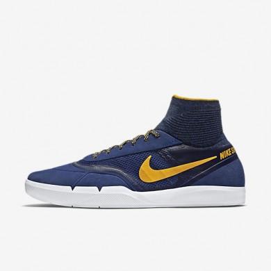 Nike SB Koston 3 Hyperfeel Deep Royal Blue/White/University Gold Mens Skateboarding Shoes