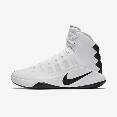 Nike Hyperdunk 2016 High (Team) White/Black Womens Basketball Shoes