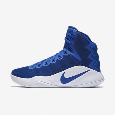 Nike Hyperdunk 2016 High (Team) Game Royal/White/Game Royal Womens Basketball Shoes