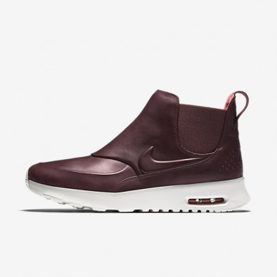 Nike Air Max Thea Mid Night Maroon/Sail/Ember Glow/Night Maroon Womens Shoes