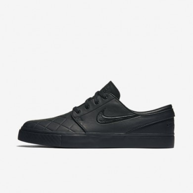Nike SB Zoom Stefan Janoski Elite SBxFB Black/Varsity Red/Black Mens Skateboarding Shoes