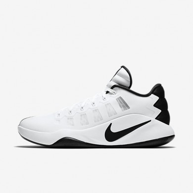 Nike Hyperdunk 2016 Low White/Black Mens Basketball Shoes