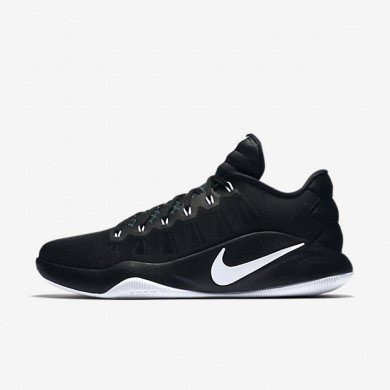 Nike Hyperdunk 2016 Low Black/Black/White Mens Basketball Shoes