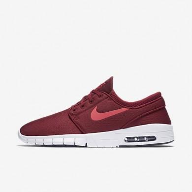 Nike SB Stefan Janoski Max Team Red/Black/White/Ember Glow Mens Skateboarding Shoes