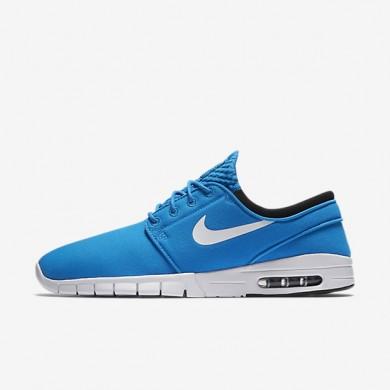 Nike SB Stefan Janoski Max Photo Blue/Black/White Mens Skateboarding Shoes