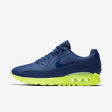 Nike Air Max 90 Ultra Coastal Blue/Volt/Blue Spark/Coastal Blue Womens Shoes