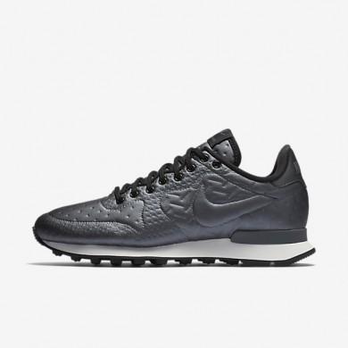 Nike Internationalist Jacquard Winter Metallic Hematite/Dark Grey/Summit White/Black Womens Shoes