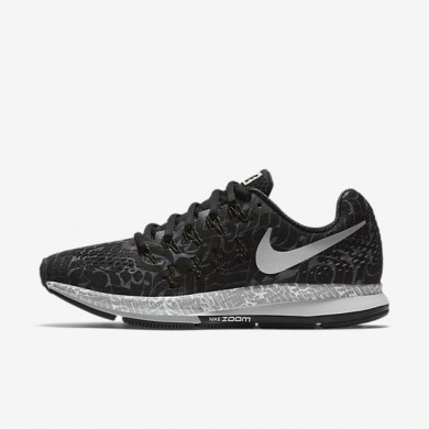 Nike Air Zoom Pegasus 33 (Rostarr) Black/Dark Grey/White/Reflect Silver Womens Running Shoes