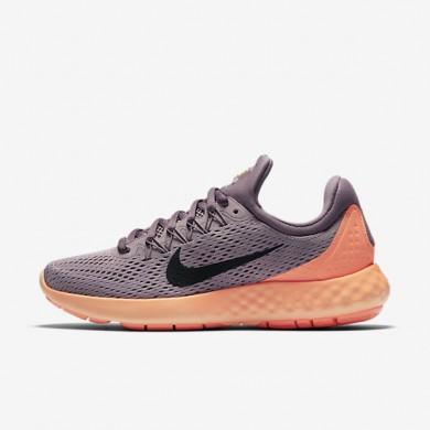 Nike Lunar Skyelux Plum Fog/Purple Shade/Bright Mango/Black Womens Running Shoes