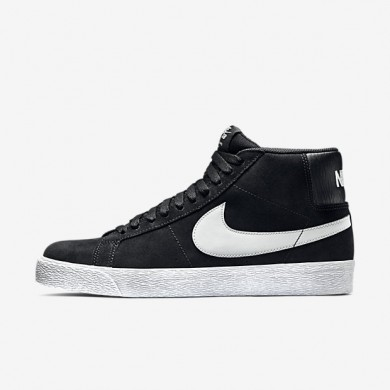 Nike SB Zoom Blazer Premium SE Black/White/Base Grey Mens Skateboarding Shoes