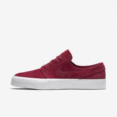 best sneakers b49d4 76071 Nike SB Zoom Stefan Janoski Premium High Tape Team Red White Team Red Mens