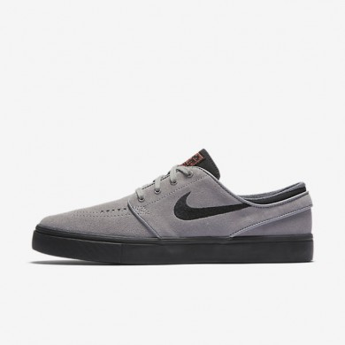 Nike SB Zoom Stefan Janoski Dust/Ember Glow/White/Black Mens Skateboarding Shoes