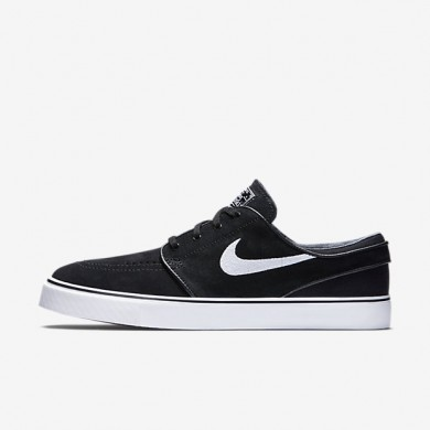 Nike SB Zoom Stefan Janoski Black/White Mens Skateboarding Shoes