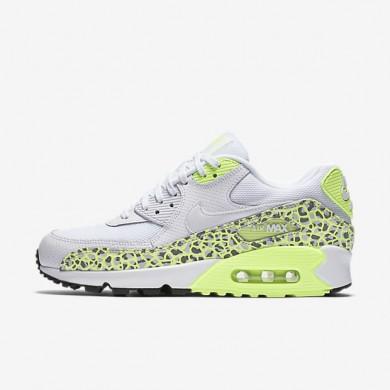 Nike Air Max 90 Premium White/Ghost Green/Black/White Womens Shoes