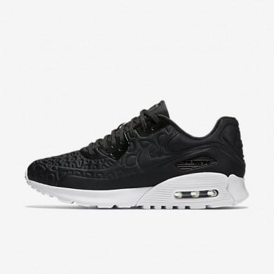 Nike Air Max 90 Ultra Plush Black/White/Black Womens Shoes
