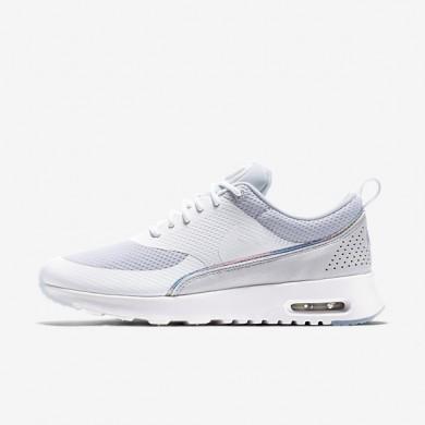 Nike Air Max Thea Premium White/Blue Tint Womens Shoes