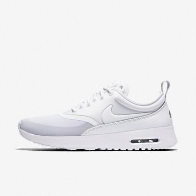 Nike Air Max Thea Ultra White/Metallic Silver/Wolf Grey/White Womens Shoes
