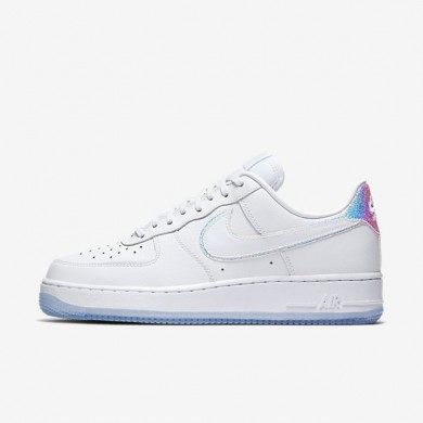 Nike Air Force 1 07 Premium White/Blue Tint/White Womens Shoes