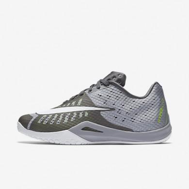 Nike HyperLive (Men's Sizing) Wolf Grey/Pure Platinum/Dark Grey/White unisex Basketball Shoes