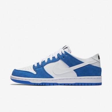 Nike SB Dunk Low Pro Ishod Wair Blue Spark/Black/White Mens Skateboarding Shoes