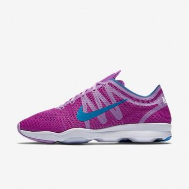 Nike Air Zoom Fit 2 Hyper Violet/Fuchsia Glow/White/Photo Blue Womens Training Shoes
