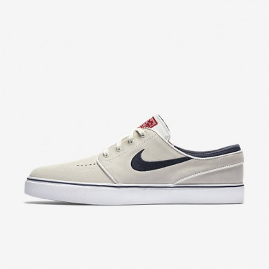 Nike SB Zoom Stefan Janoski Summit White/University Red/White/Obsidian Mens Skateboarding Shoes