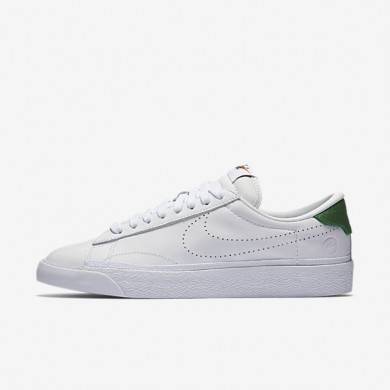 Nike Lab Air Zoom Tennis Classic x fragment White/White/Apple Green Womens Shoes