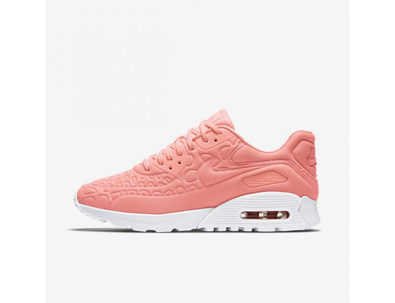 Nike Air Max 90 Ultra Plush Damen Atomic Pink Summit Weiß